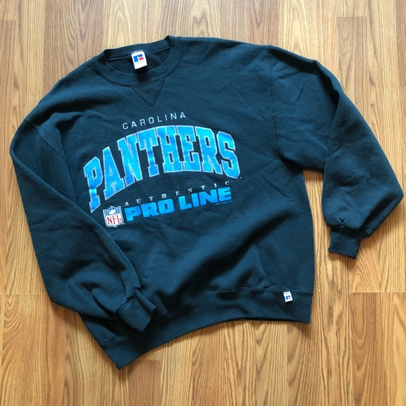 competitive price dded1 97cf4 VINTAGE NFL Carolina Panthers Crewneck Sweatshirt